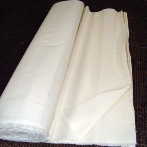 Toile blanche tapissier 180 gr / m²