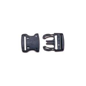 Boucle plastique à clips 25 mm